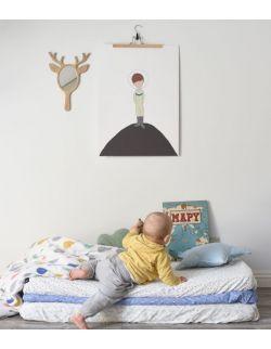"Plakat ""LITTLE ASTRONAUT"" 50x70 Mały książę"