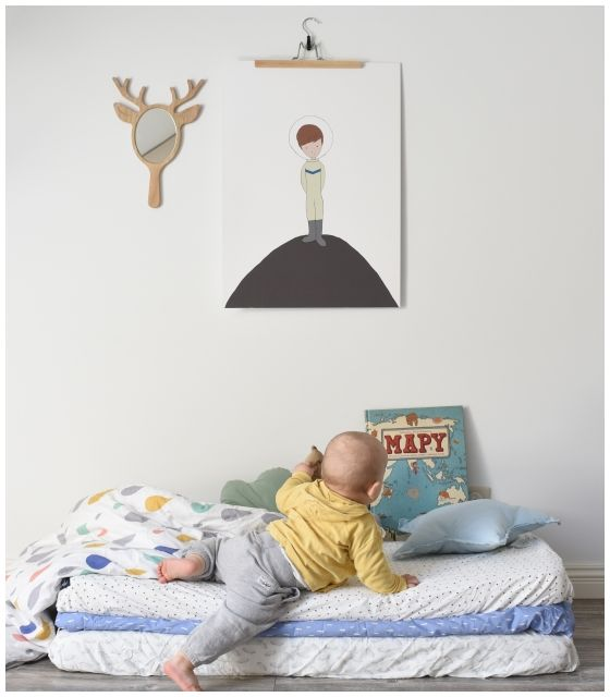 "Plakat ""LITTLE ASTRONAUT"" 50x70"