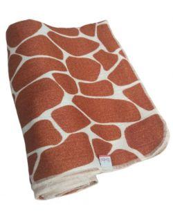 Otulacz bambusowy 120x120 - Giraffe