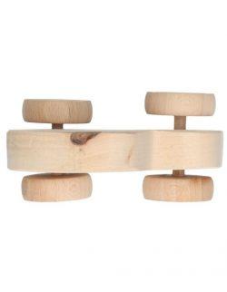 Autka drewniane 3 sztuki- Eko zabawka kreatywna