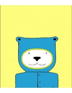 "Plakat ""COSMO BEAR"" 50x70"
