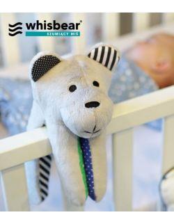 Whisbear® SOFT - Szumiący Miś z funkcją CRYsensor (turkus)