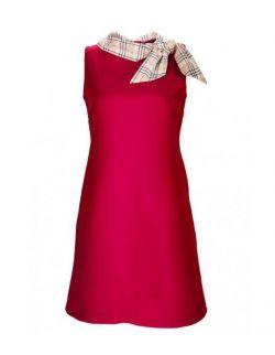 Sukienka z szalem