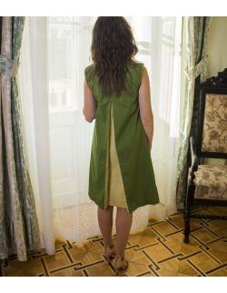 Sukienka z kontrafałdą