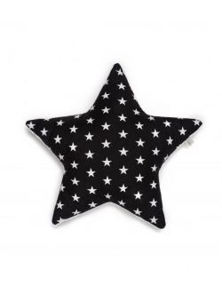 poduszka gwiazda gwiazdy biale