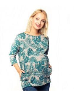 Bluza ciążowa i do karmienia Ulla forest
