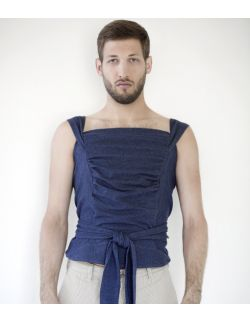 """męska koszulka do kangurowania niemowlęcia Medbest """"ENIO"""""""