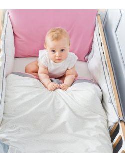 Ochraniacz na łóżeczko m/l - na całe łóżeczko