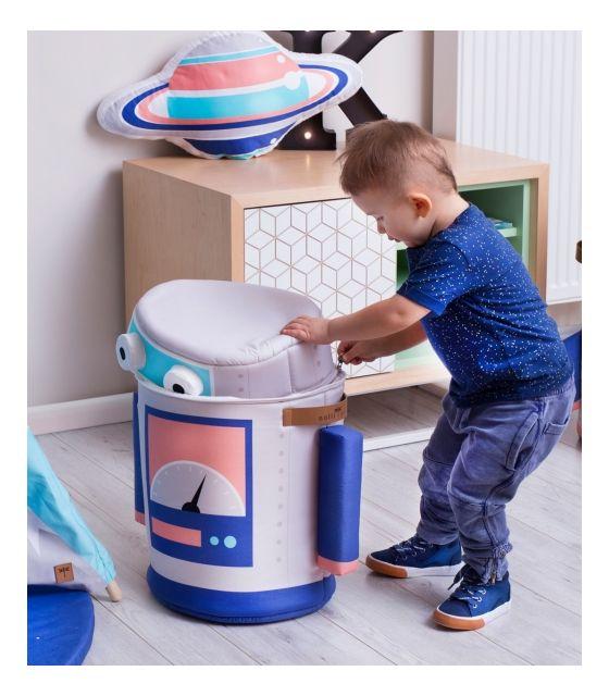 Kosz na zabawki ,, Robot''