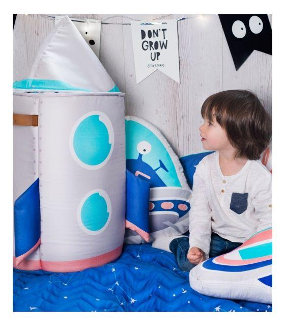 Kosz na zabawki ,, Space Rocket''
