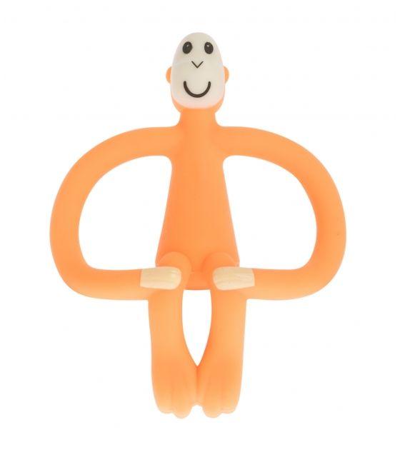 Matchstick Monkey Orange Gryzak 3D ze szczoteczką
