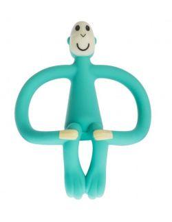 Matchstick Monkey GREEN Gryzak 3D ze szczoteczką