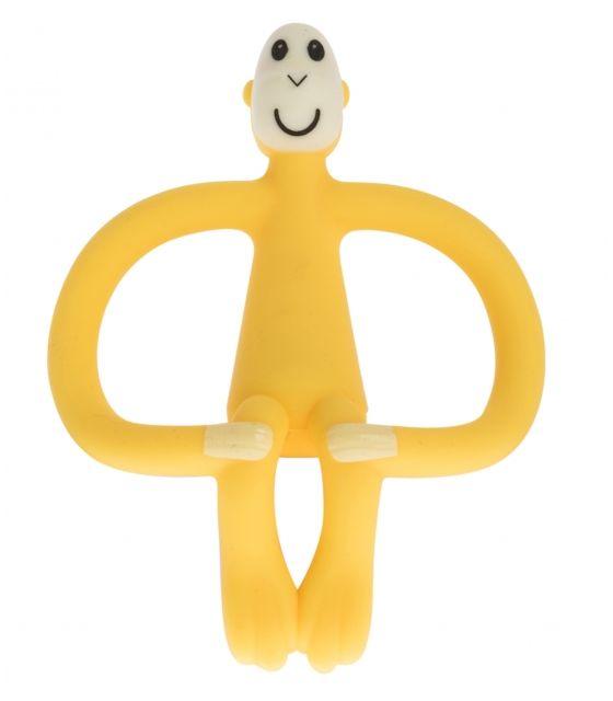 Matchstick Monkey YELLOW Gryzak 3D ze szczoteczką