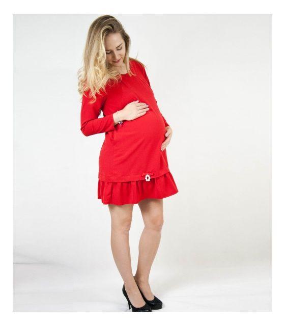 Sukienka do karmienia MamaBelle Red Rose