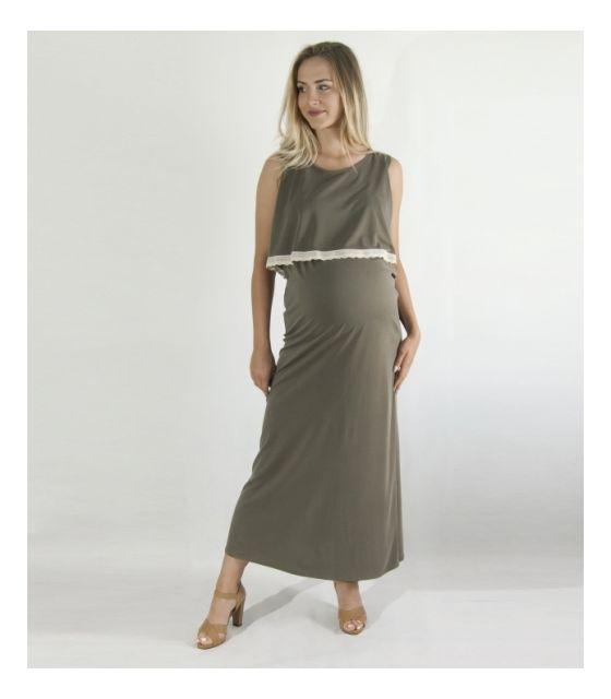 Sukienka do karmienia MamaBelle Olive