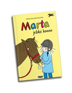Marta jeździ konno