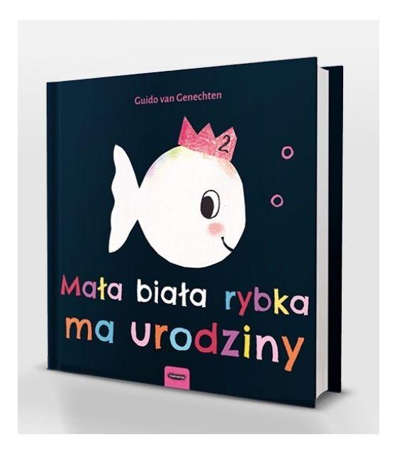 Mała biała rybka ma urodziny