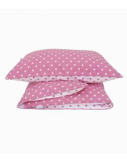 Pościel różowo-biała w gwiazdki niemowlęca