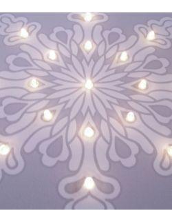 ŚWIECĄCY obraz ŚNIEŻYNKA lampka dla dziecka dekoracja święta prezent
