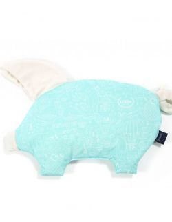 VELVET COLLECTION - PODUSIA SLEEPY PIG - LA MILLOU & MAMAVILLE MINT - RAFAELLO
