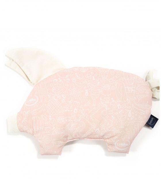 VELVET COLLECTION - PODUSIA SLEEPY PIG - LA MILLOU & MAMAVILLE PEACH - RAFAELLO