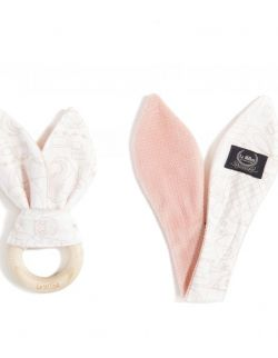 VELVET COLLECTION - WOODY BUNNY - LA MILLOU & MAMAVILLE PEACH BRIGHT - POWDER PINK