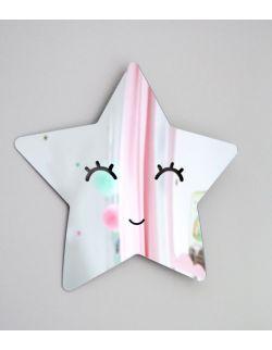 Akrylowe lustro Uśmiechnięta Gwiazdka