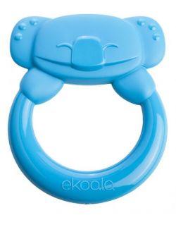 Gryzak Koala z Uchwytem 100% BIOplastik Niebieski