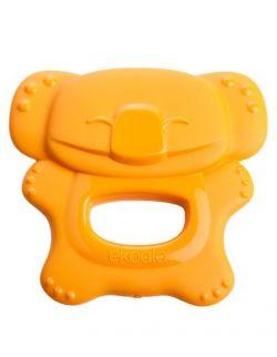 Gryzak Koala 100% BIOplastik Pomarańczowy