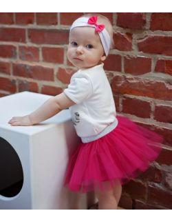 spódniczka tiulowa klasyczna baby