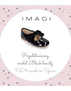 Skórzane balerinki BLACK BEAUTY