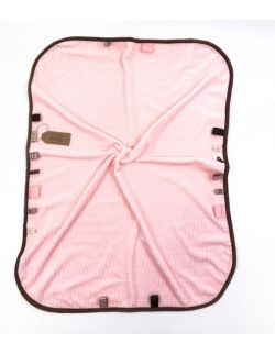 Kocyk FloppyLove Pink & Brown Tags