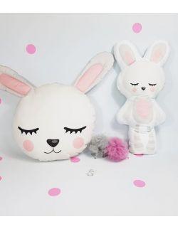 Komplet poduszek uroczy królik