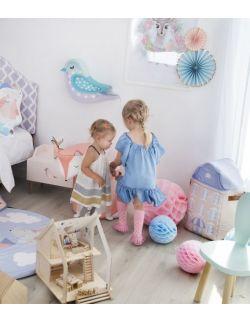 Kosz na zabawki ,,Pastel House'
