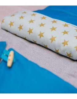 Śpiwór niebieski z gwiazdkami