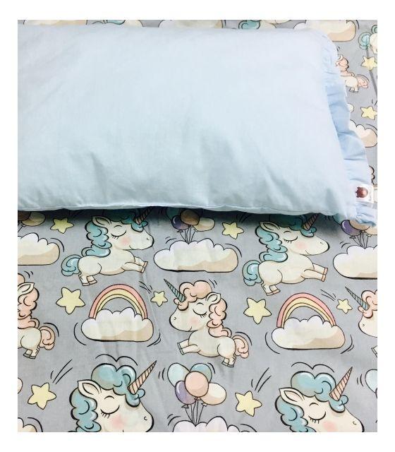 Poduszka Baby Dekor Falbana bawełna 100% - 35x 60 cm