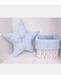 Poduszka gwiazda błękitna