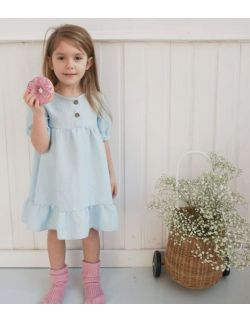 Sukienka Buttercup Niebieska