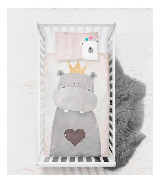 Pościel Baby Dekor 75 x 100 cm Hipcio Premium