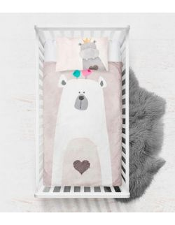 Pościel Baby Dekor 75 x 100 cm Misio Premium