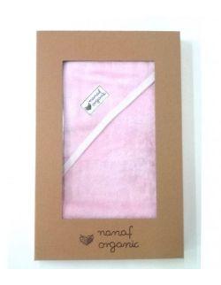 Ręcznik bambusowy różowy 85x85cm