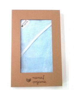 Ręcznik bambusowy niebieski 85x85cm