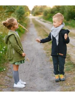 Płaszcz dziecięcy wiosenno-jesienny - mech