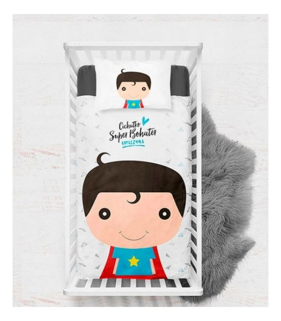Pościel Baby Dekor 75 x 100 cm Super Bohater