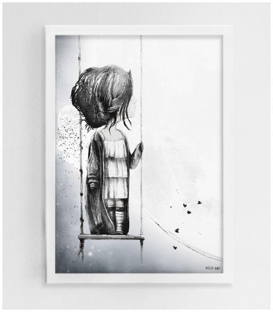 Elia - ANULAKI uskrzydlona kraina plakat do pokoju dziecka