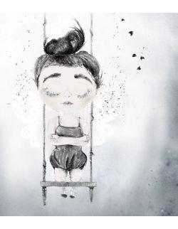 Lilu Anulaki uskrzydlona kraina plakat dla dziecka do pokoju dziecięcego obrazek
