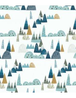 Prześcieradło do gondoli, kosza mojżesza, kołyski bambusowe góry