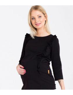 Bluzka ciążowa i do karmienia frilla black