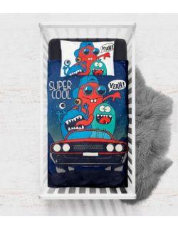Pościel Baby Dekor 75 x 100 cm Auto Potworków