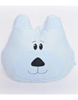 Poduszka miś duża z możliwością personalizacji niebieski